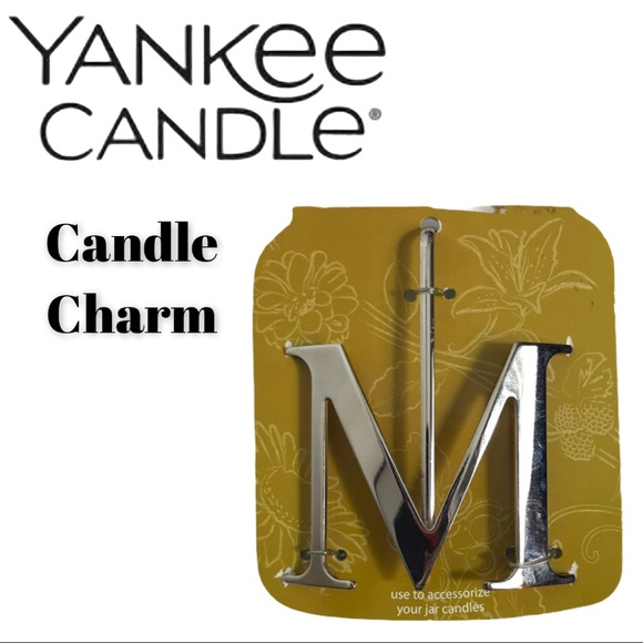 New Yankee Candle Charm - The Letter M